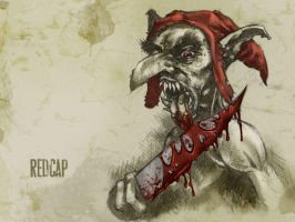 #31DaysOfMonsters Day12: Redcap by franciscomoxi