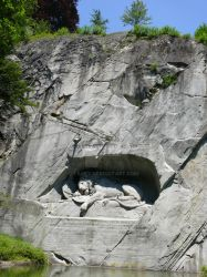 The Dying Lion of Luzern by Tasky