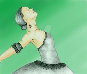 Ballerina - colored by IvanaKC