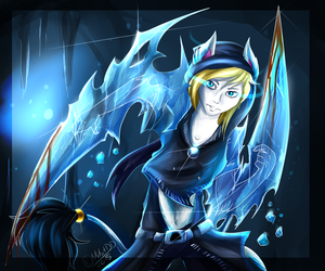 ~ . Ice Blades . ~ by Meltis