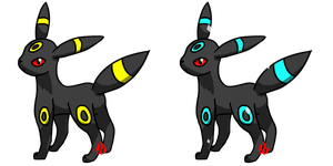 Pokemon #197 - Umbreon by Fyreglyphs