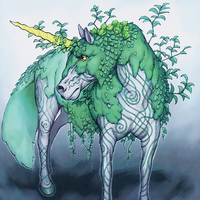 Uniflora, Mystical Beast of the Forest by Yugi-Master