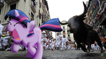 PPAW - Running of the Bulls, Spain by OJhat