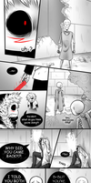 X-Hand - Pg 33-34 - (Undertale AUs comic) by Dra-Aluxe
