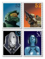 Halo 3 Stamp Pack by TonyFbaby
