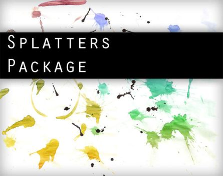 Splatters PACKAGE by Knald