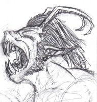 Lycanthropy Work in progress by severedconnection