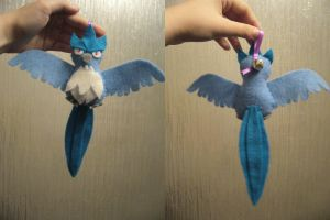 Articuno Bell Plush by Sexual-Pancake