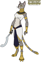 Mythologies - Bastet 2014 by HewyToonmore