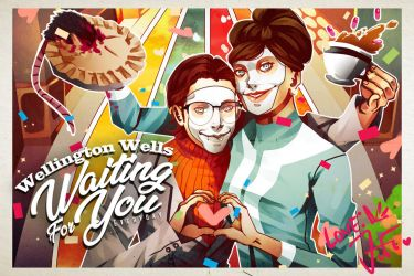We Happy Few Postcard Contest Entry by dotpapercrowndot