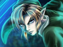 Link close up by HitokiriSakura2012