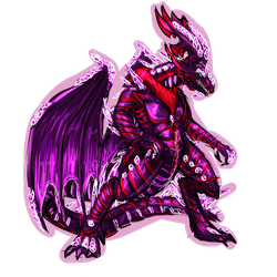 Commission - Crystal Dragon Anthro Sketch by Cryophase