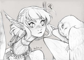. 173 - Olaf and Anima . by Amelion