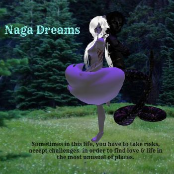 Naga Dreams backcover by KiyiyaHowlingWolf
