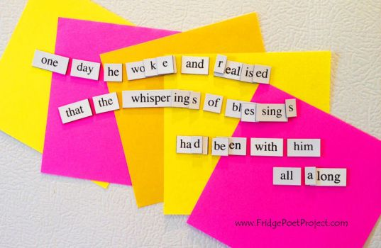 The Daily Magnet #188 by FridgePoetProject