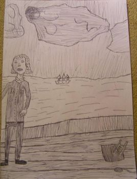 Some guy on a ship by korgus
