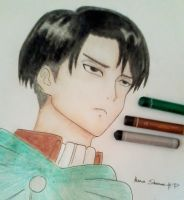 Captain Levi by hanashenne