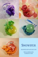 Sphere Ornament Dragons by Snowifer
