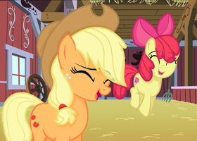 A Visit To Apple Loosa|We're Going To Apple Loosa by SapphireArtemis