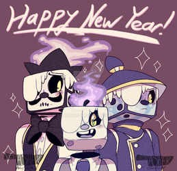 New Year's Day 2018! [READ DESCRIPTION!] by Ashuribbon