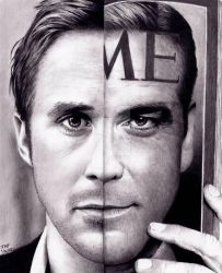 Ryan Gosling - George Clooney MORPH by Doctor-Pencil