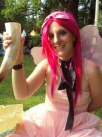 Castlefest 2009 Pink Fairy by lilam70