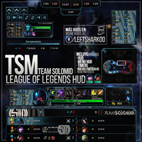 Team SoloMid League of Legends HUD by LeftLucy