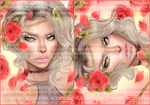 Rose and thorns by drawingsbygia
