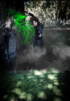 Bellatrix Killing Sirius Black by IceDragonCosplay