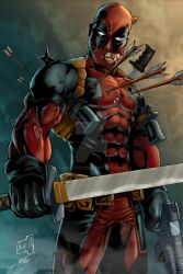 Deadpool Color by odeloth