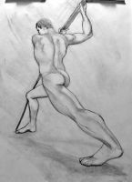 Exagerrated Male Form by StudioSmugbug