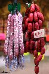 Hanging Sausages by xxchef