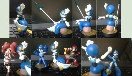 Splash woman fan made figure by Gregarlink10