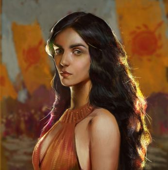 Arianne Martell by BellaBergolts
