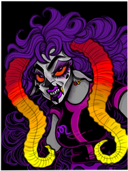 Clown Wife by Rayon-Trees