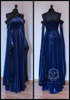 Medieval Fantasy dress by Dolores-de-Ville