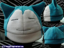 Snorlax Hat by x-Wolfeh-x