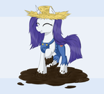 Dirty Rarity by WolfyPon