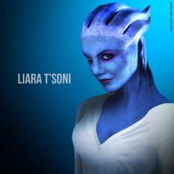 The REAL Liara T'Soni #1 by CylenthVision