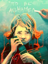 In the school of life you will learn the shame by AquaSixio