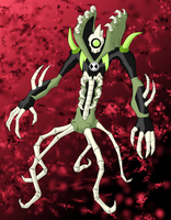 Wildbones Ben10 Alien by BLUE-F0X