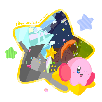 Kirby Air Ride! by p0Yo