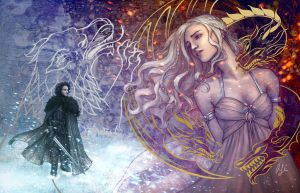 Ice and Fire by AliceMeichi
