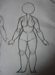 human (female) body - step fourteen by jujunumber101