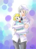 APH With baby by MaryIL