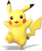 Super Smash Bros. Ultimate - 08. Pikachu by pokemonabsol