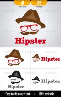 Hipster - Logo Template by doghead