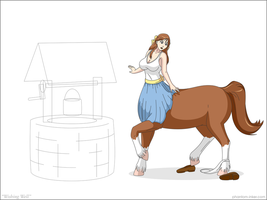Wishing Well - WIP2 by phantom-inker