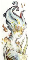 custom bookmark sea creature by Kaos-Nest