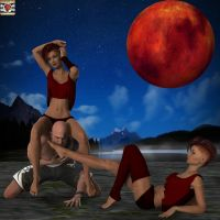 Red Moon by kirgen71